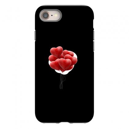 Valentines Day Hearts Iphone 8 Case Designed By Soulaimane