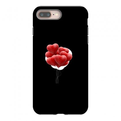 Valentines Day Hearts Iphone 8 Plus Case Designed By Soulaimane