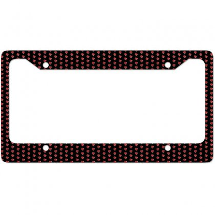 Valentines Day Hearts License Plate Frame Designed By Soulaimane