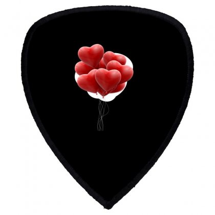 Valentines Day Hearts Shield S Patch Designed By Soulaimane