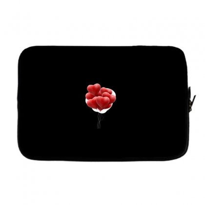 Valentines Day Hearts Laptop Sleeve Designed By Soulaimane