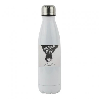 Where Is My Mind? Stainless Steel Water Bottle Designed By Karthika_8