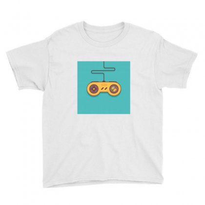 Gaming Console Youth Tee Designed By Mouadhr