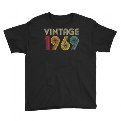 51st Birthday Gift Vintage 1969 Classic Men Women 51 Years T Shirt Youth Tee Designed By Cuser1744