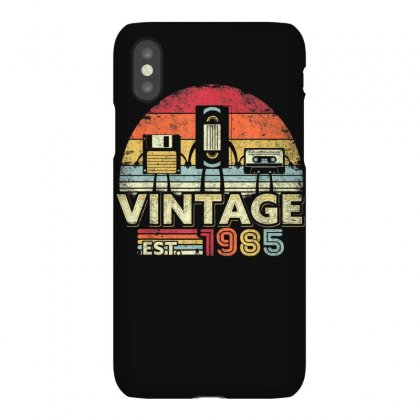 1985 Shirt. Vintage Birthday Gift, Funny Music, Tech Humor T Shirt Iphonex Case Designed By Cuser1744