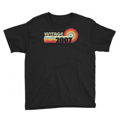 2007 Vintage T Shirt, Birthday Gift Tee. Retro Style Shirt. Youth Tee Designed By Cuser1744