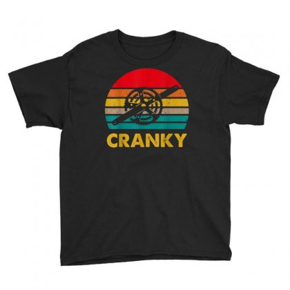 Bicycle Cranky Retro Vintage Gift For Cycling Lovers T Shirt Youth Tee Designed By Cuser1744