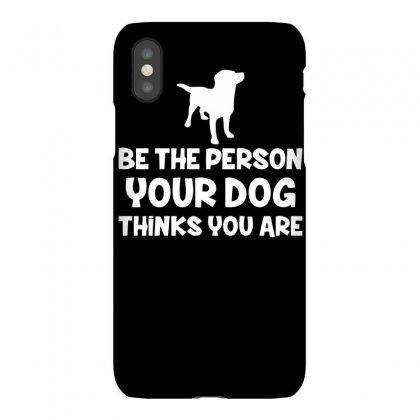 Dog Lovers Person Iphonex Case Designed By Bon T-shirt