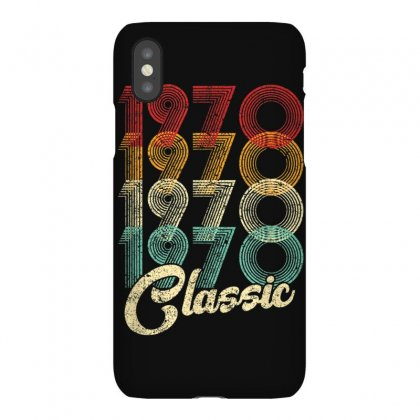 Classic 1970 50 Years Old Vintage 50th Birthday Gift T Shirt Iphonex Case Designed By Cuser1744