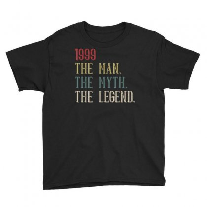 Cool Funny Vintage Retro 21st Birthday Gift 1999 For Men Boy T Shirt Youth Tee Designed By Cuser1744