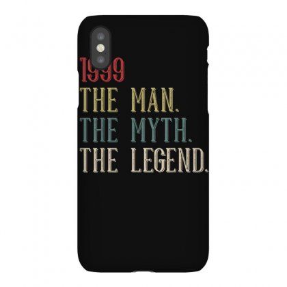 Cool Funny Vintage Retro 21st Birthday Gift 1999 For Men Boy T Shirt Iphonex Case Designed By Cuser1744