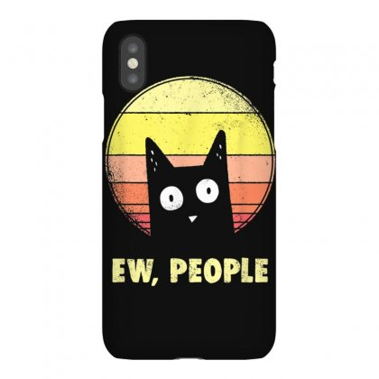Ew, People Vintage Funny Cat Lover Gift, Graphic Cat T Shirt Iphonex Case Designed By Cuser1744
