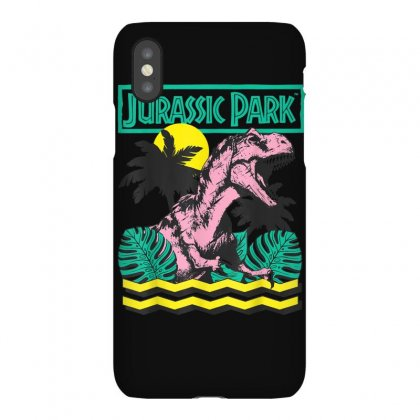 Jurassic Park Vintage T Rex Roar Retro Graphic T Shirt Iphonex Case Designed By Cuser1744
