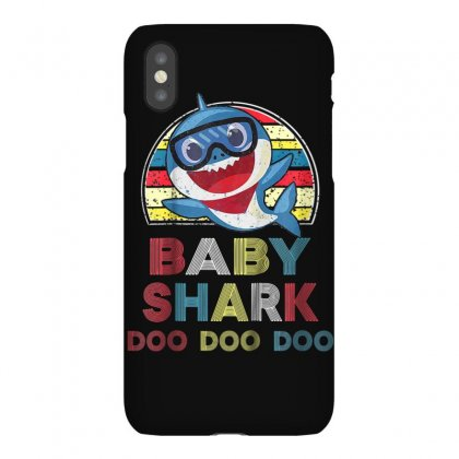 Kids Retro Vintage Baby Shark Doo Doo Doo T Shirt Christmas Gift Iphonex Case Designed By Cuser1744
