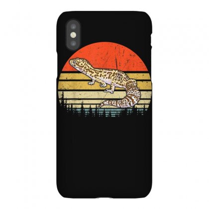 Leopard Gecko Shirt Retro Vintage Leopard Gecko Animal T Shirt Iphonex Case Designed By Cuser1744