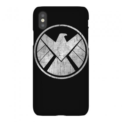 Marvel Agents Of S.h.i.e.l.d. Grungy Logo Vintage T Shirt T Shirt Iphonex Case Designed By Cuser1744