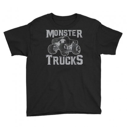 Monster Truck Shirt  Retro Vintage Off Road Tee Youth Tee Designed By Cuser1744