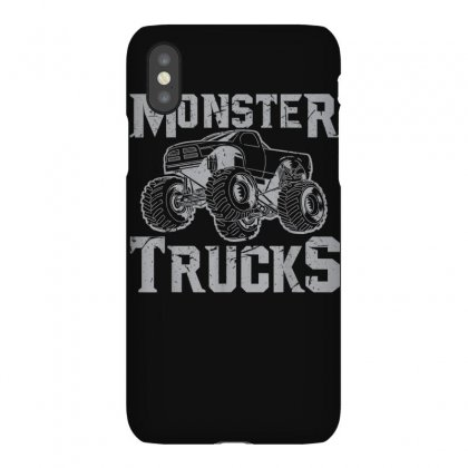 Monster Truck Shirt  Retro Vintage Off Road Tee Iphonex Case Designed By Cuser1744