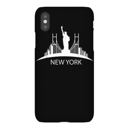 New York City T Shirt New York State Shirt Vintage New York Iphonex Case Designed By Cuser1744