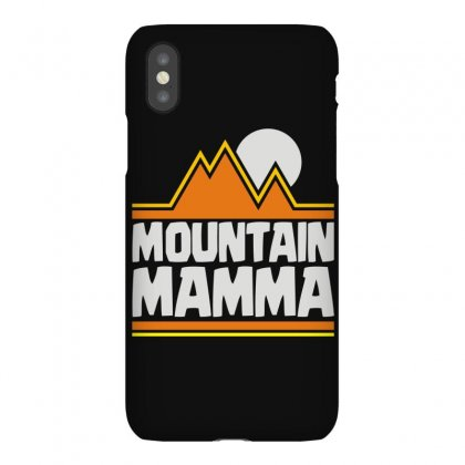 Mountain Mamma Iphonex Case Designed By Funtee