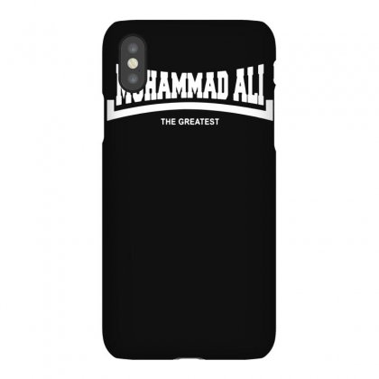 Muhammad Ali The Greatest Logo Iphonex Case Designed By Funtee