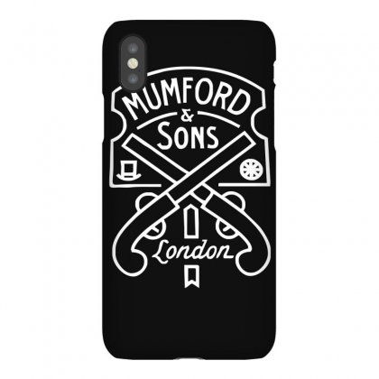 Mumford & Sons Pistols Iphonex Case Designed By Funtee