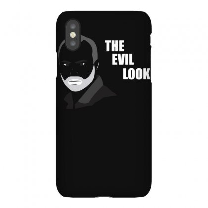 Murr Evil Look Funny Iphonex Case Designed By Funtee