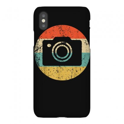 Photographer Shirt   Vintage Retro Camera T Shirt Iphonex Case Designed By Cuser1744