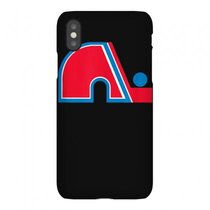 Quebec Hockey Vintage Team Logo Nordiques T Shirt Iphonex Case Designed By Cuser1744