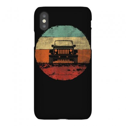 Retro Vintage Jeeps Shirt   Off Road T Shirt Iphonex Case Designed By Cuser1744
