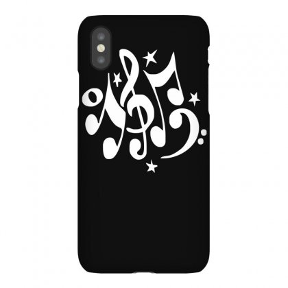 Music Notes#4 Rock Design Graphic Band Iphonex Case Designed By Funtee