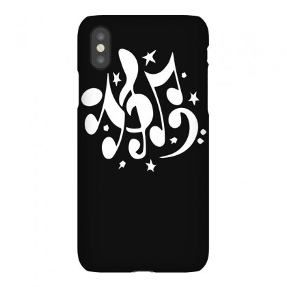 Music Notes Iphonex Case Designed By Funtee