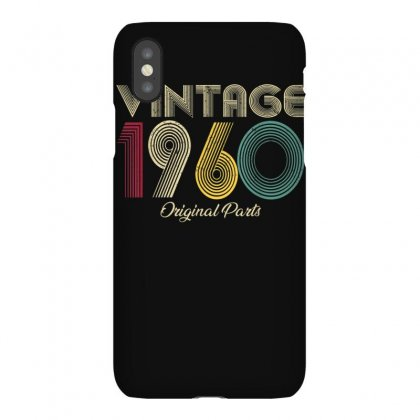 Vintage 1960 T Shirt Original Parts Men Women   Birthday T Shirt Iphonex Case Designed By Cuser1744