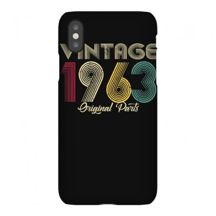 Vintage 1963 Original Part Men Women   57 Birthday Gift T Shirt Iphonex Case Designed By Cuser1744