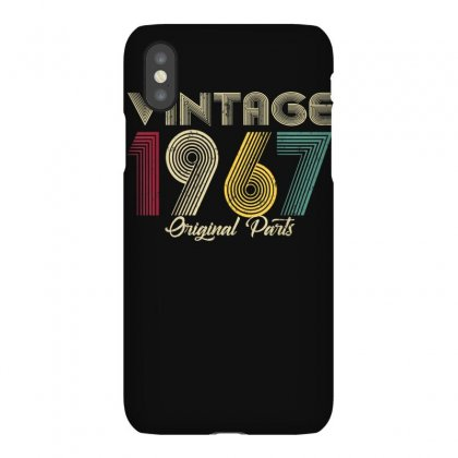 Vintage 1967 Original Part Men Women   53 Birthday Gift T Shirt Iphonex Case Designed By Cuser1744