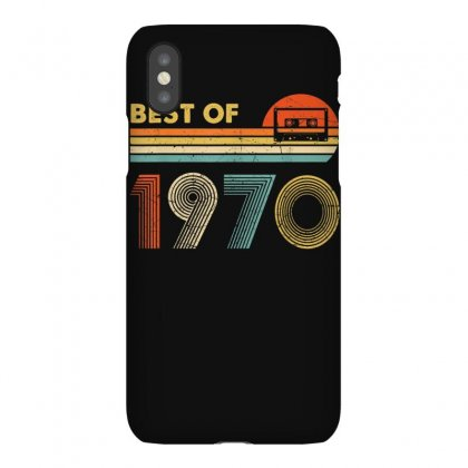 Vintage 1970 Best Of 1970 50th Birthday 50 Years Old Gift T Shirt Iphonex Case Designed By Cuser1744