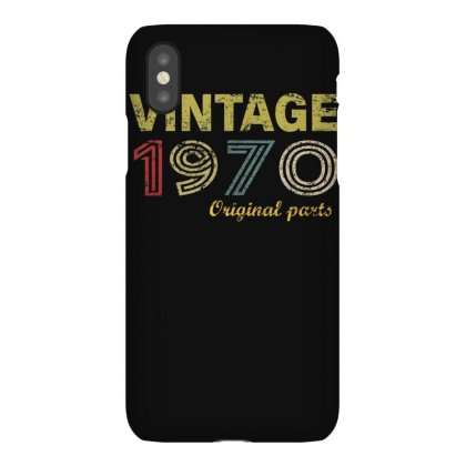 Vintage 1970 Original Parts Funny 50th Birthday Men Women T Shirt Iphonex Case Designed By Cuser1744