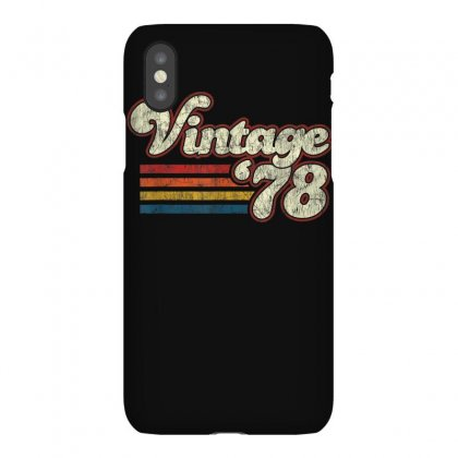 Vintage 1978 41st Birthday T Shirt Iphonex Case Designed By Cuser1744