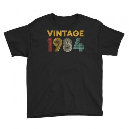Vintage 1984 36 Years Old Born In 1984 36th Birthday Gift T Shirt Youth Tee Designed By Cuser1744