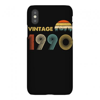 Vintage 1990 Made In 1990 30th Birthday 30 Years Old Gift T Shirt Iphonex Case Designed By Cuser1744