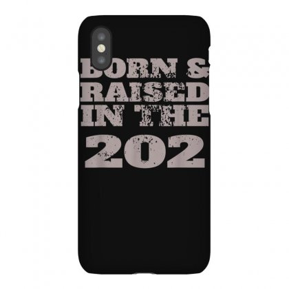 Vintage Born And Raised In The 202 For People From Dc T Shirt Iphonex Case Designed By Cuser1744