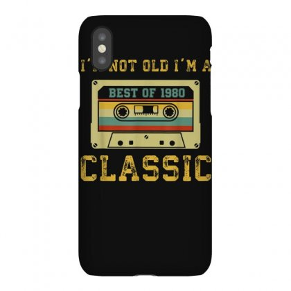Vintage Cassette I'm Not Old I'm A Classic 1980 39th T Shirt Iphonex Case Designed By Cuser1744