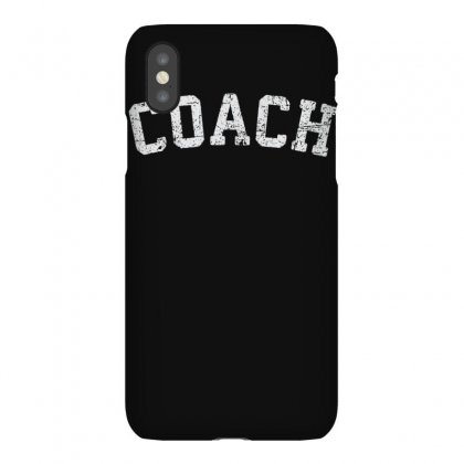 Vintage Coach T Shirt  Old Retro Coach's Gift Sports Tee Iphonex Case Designed By Cuser1744