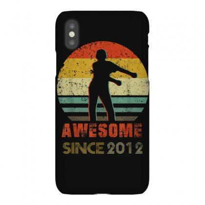 Vintage Floss Dance 8th Shirt Gift For 8 Year Old Birthday T Shirt Iphonex Case Designed By Cuser1744