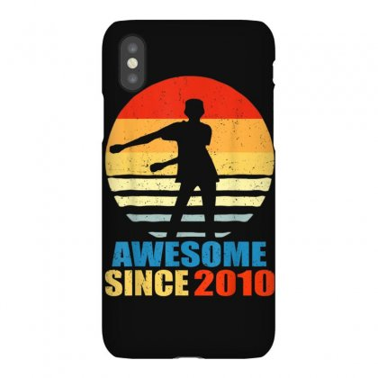 Vintage Floss Dance 9th Shirt Gift For 9 Year Old Birthday Iphonex Case Designed By Cuser1744