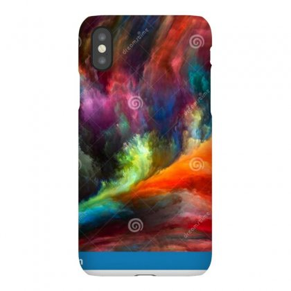 Abstract Color Series Backdrop Design Colorful Paint Motion Canvas Wor Iphonex Case Designed By Sonu Kumar Tiwari