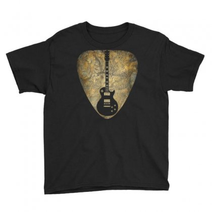 Vintage Guitar Pick New T Shirts Gifts Guitarist Love Music Youth Tee Designed By Cuser1744