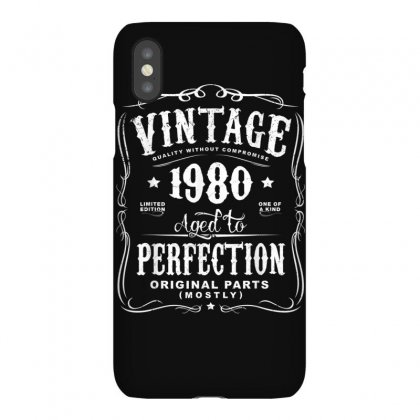 Vintage Made In 1980 T Shirt 38th Birthday Gift Iphonex Case Designed By Cuser1744