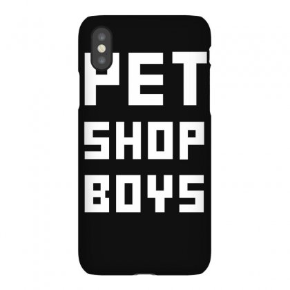 Pet Shop Boy New Iphonex Case Designed By Ruliyanti