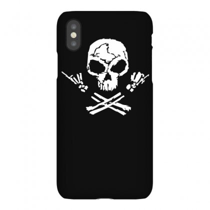 Rock Skull Iphonex Case Designed By Ruliyanti